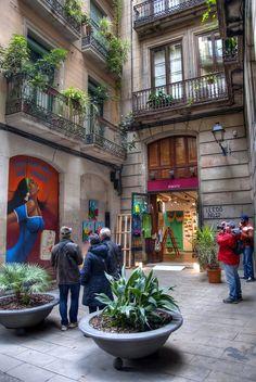 Ciutat Vella, Barcelona, Cataluña.