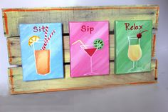 sit, sip, relax :)