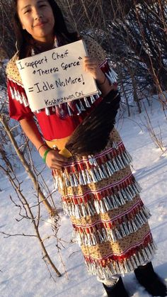 Idle No More -Kashechewan First Nation  - Photo by Catherine Spence