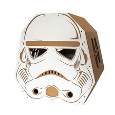 StarWars Imperial Stormtrooper Cardboard Cat House,Cat Furniture From the back side