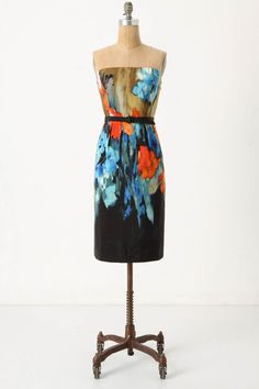 This is the dress I bought myself for my birthday! Love it! #anthropologie