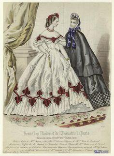 Revue des modes et de l'industrie de Paris. (1862)