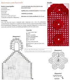 Olá!       Mais um modelo de Toalha Batemão  com detalhes de Flor em Crochê.       Obrigada por visitar!