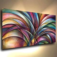 "A single Giclee Canvas print measuring 24"" high x 48"" wide x 1.5"" deep. Professional quality materials were used in the creation of this art print. The canvas is Gallery wrapped, the sides are staple free and have been painted so no decorative framing is needed to display."