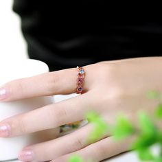 Wholesale Classic Rose Gold Plated Heart Multicolor Rhinestone Ring for Women Only Gold Plated Rings, Rose Gold Plates, Plating, Heart, Classic, Color, Jewelry, Women, Derby