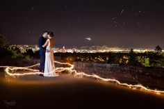 Paraphrase Productions Wedding Photography  |  Night Photography  |  Sparklers  |  Off Camera Flash