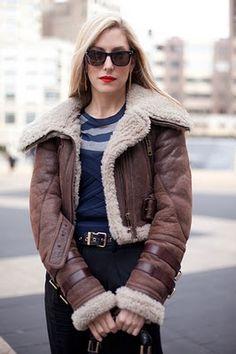 shearling jackets