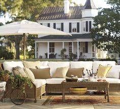 would love this wicker outdoor furniture http://rstyle.me/n/ivyyzr9te