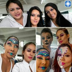 Atrévete a crear, el #maquillaje te lo permite. #aprendeconlosmejores #maquillajeprofesional #losmejoresenmaquillaje