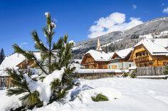 St Martin Chalets #Skiing #Resort, April 2013