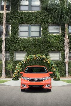 We never claimed we wanted to fit in. Stand out in the bold and surprisingly spacious 2018 Honda Fit. Honda Fit, Honda Cars, Small Cars, What Is Like, Automobile, Sporty, Fresh, Fitness, Life