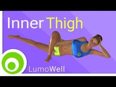 Inner thigh workout: exercises to tone and lose inner thigh fat - YouTube