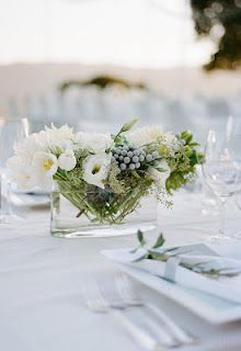 Wedding place setting? Yeah...but what about a small summer dinner party on your back porch :)