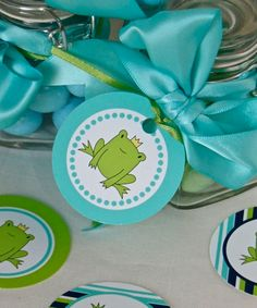Frog Prince Party Circles DIY Printables by FrogPrincePaperie, $4.00