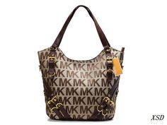 $44 for MK Fashion Handbag. Buy Now!  http://hellodealpretty.com/MK-Handbag-072-productview-140773.html #MK #Fashion #Handbag