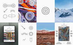 Fondation Opale — Contemporary Aboriginal art in the heart of the Swiss Alps — Branding & Digital by Base Design Aboriginal Artists, Swiss Alps, Pictogram, In The Heart, Artist At Work, Art Museum, Contemporary Art, The Past, Tapestry