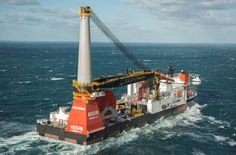 Heerema's New Vessel Aegir Arrives in Rotterdam for Final Outfitting. One of the largest deepwater construction vessels in the world; it is a DP3 class vessel & is capable of executing complex infrastructure and pipeline projects in ultra deep water & will also have sufficient lifting capacity to install fixed platforms in relatively shallow water.