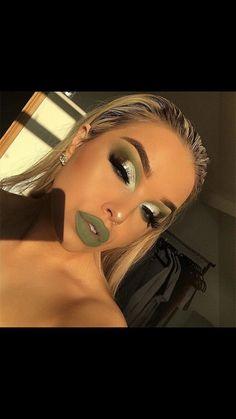 Gorgeous Makeup: Tips and Tricks With Eye Makeup and Eyeshadow – Makeup Design Ideas Makeup On Fleek, Flawless Makeup, Cute Makeup, Glam Makeup, Gorgeous Makeup, Pretty Makeup, Skin Makeup, Makeup Art, Sleek Makeup