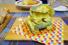 俺作のズッキーニのコーンミール衣のフライアメリカンアペタイザーのオクラフライの衣でズッキーニを揚げてみたら美味かった #meallog #food #foodporn #tw by masada_ya