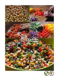 Vegan, Vegetables, Recipes, Food, Red Peppers, Essen, Vegetable Recipes, Meals, Eten