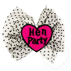 Miss-Chief Hen Party Hair Bow by Hen Night HQ - Hats for the best hen parties