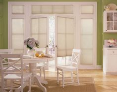 Patio doors are fantastic for natural light, and accessing your outdoor space. Here are some ideas and inspiration for your patio door blinds and shades. Door Shades, Shades Blinds, Patio Door Blinds, Patio Doors, Patio Shade, Kitchen Colors, French Doors, Window Treatments, Interior