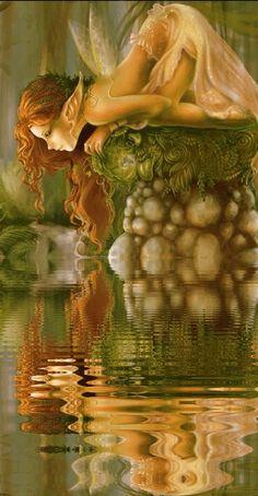 Para hoy 5 de noviembre tenemos el Hada de Los Manantiales que viene a refrescar hoy tu vida con el agua sagrada de la vida, para que renazc...