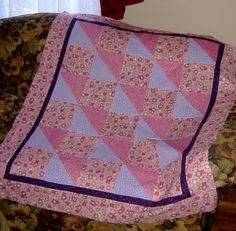just finished this baby quilt top today