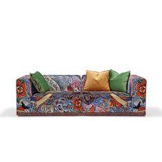 TATTOO sofa #artyfurniture #modularsofa #tattoosofa #tattoo #crazypattern