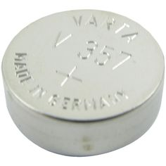 LENMAR WC357 1.55-Volt Silver Oxide Watch Battery (SR44W; 180mAh)