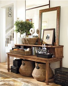 Tips you can use from my latest designs/A new series: Using baskets for storage | Lori May Interiors