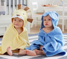 Nursery Critter Wraps | Pottery Barn Kids