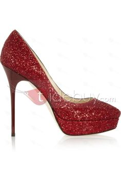 Gorgeous Red Platform Stiletto Heels Prom Shoes : Tidebuy.com