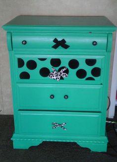 Old dresser redo for my pre teen
