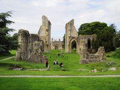 Somerset Levels – Glastonbury Abbey to Glastonbury Tor round Anglo Saxon Kingdoms, Glastonbury Abbey, Somerset Levels, Quiet People, Kingdom Of Great Britain, 14th Century, Tours, Explore, Places