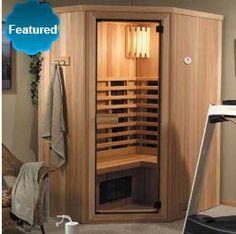 Laatu LIR-45 2-3 Person Infrared Sauna Room Kit