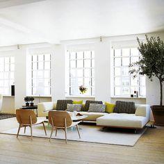 Lovenordic Design Blog: Cool Danish loft apartment....