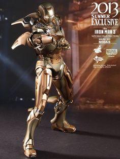 IRON MAN 3 - Hot Toys Mark XXI Midas Armor Collectible Action Figure — GeekTyrant