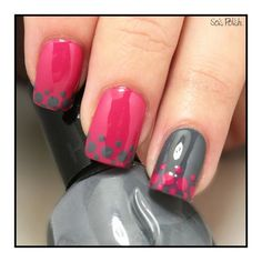 Pocadot nail art