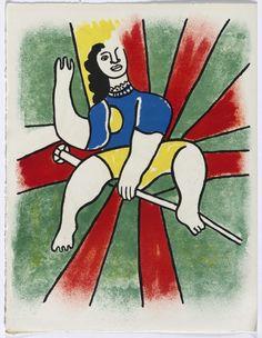 Fernand Léger, Cirque lithographs