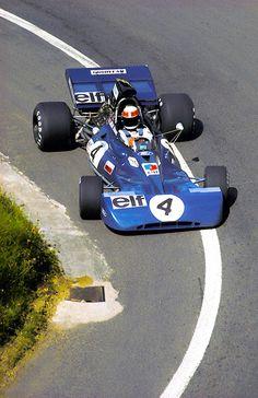 Jackie Stewart Tyrrell 1972