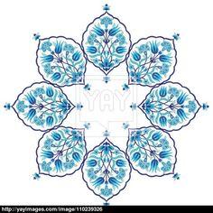 Blue artistic ottoman seamless pattern series sixty eight Turkish Design, Turkish Art, Turkish Tiles, Zentangle, Middle Eastern Art, Turkish Pattern, Mandala Drawing, Butterfly Wallpaper, Hippie Art