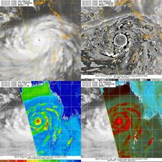 Dangerous Tropical Cyclone Phalin. Multiple satellite views from NRL tropical cyclone website.