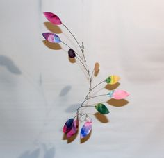 Art Mobiles  Hanging Kinetic Sculpture  Calder Style by skysetter