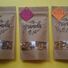 Ореховая, пряная или шоколадная ?! Возьмите все !) #food #здороваяеда #instagood #vscocam #odessa #гранола #granola #breakfast #instafood #chocolate curated by Copious Bags™