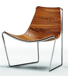 Apelle Lounge Chair by MIDJ in Italy Furniture with gorgeous flamed walnut finish now IN-STOCK for our USA customers.