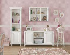 Cilek Dream Teppich Wunderschöne Blumenranken schmücken den romantischen Teppich der Möbelfirma Cilek.      Mit diesem Zimmer öffnet man die Pforten in eine romantische und zauberhafte neue Welt. Die Möbelkollektion Romantic... #kinder #teppich #cilek
