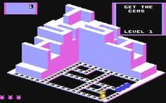 Crystal Castles I played for hours on Commodore 64 - thought it was an amazing game! Crystal Castle, Vintage Video Games, Retro Toys, Nintendo Games, Childhood Memories, Castles, Videogames, Kids Toys, Things To Think About