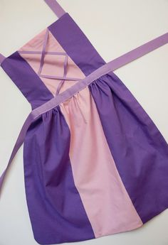 Enredados princesa Rapunzel dress up delantal para niños y niñas