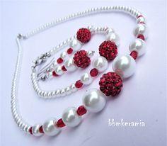 BBM Kerámia Ékszer Pearl Necklace, Pearls, Jewelry, Fashion, String Of Pearls, Moda, Jewlery, Jewerly, Fashion Styles